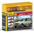 Maqueta Renault 4L escala 1-24 de Heller