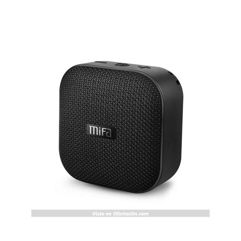Mini Altavoz Portátil Bluetooth con ventosa Mifa A1-BK 5W Impermeable y Anti-Polvo