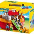 Playmobil 1 2 3 - Arca de Noé con caja-maletín