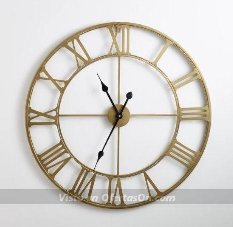 Las mejores ofertas y descuentos en relojes de pared for Reloj pared retro