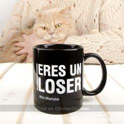 Taza existencialista Eres un loser