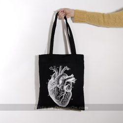 Bolsa Tote Bag Corazón Anatómico