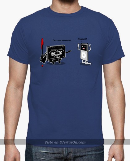 Camiseta Cassette - iPod I'm your father