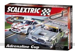 Scalextric Original - Circuito C3 Adrenaline Cup con pistas nuevas digitalizables