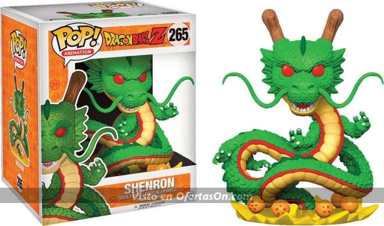 Dragón Shenron 15 cm (Bola de Dragón) Estilo POP! de Funko
