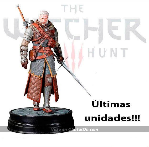 Figura The Witcher 3 Geralt de Rivia 20 cm