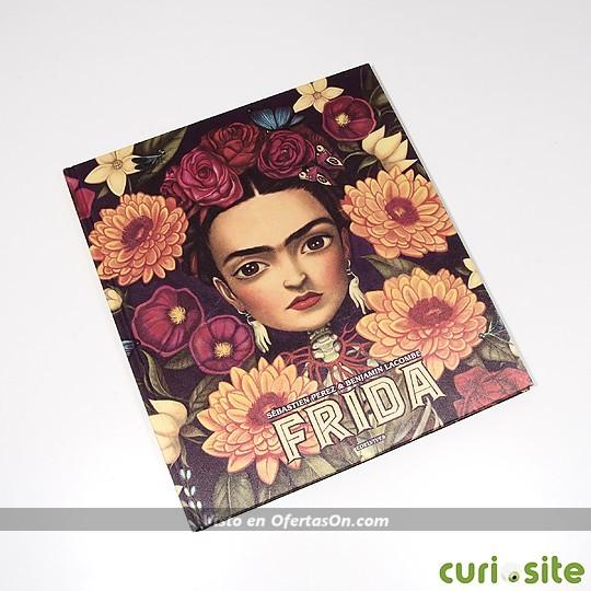 Libro Frida de Sébastien Perez, ilustrado por Benjamin Lacombe