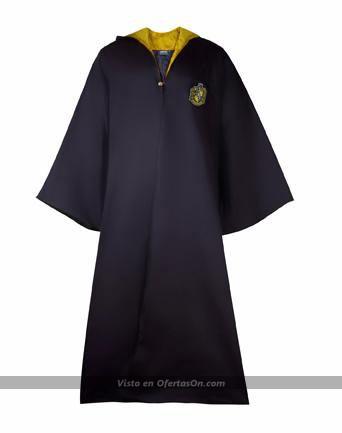 Túnica mago casa Hufflepuff (Harry Potter) edición exclusiva (infantil y adulto)