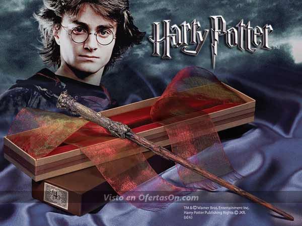 Varita mágica de Harry Potter (35 cm)
