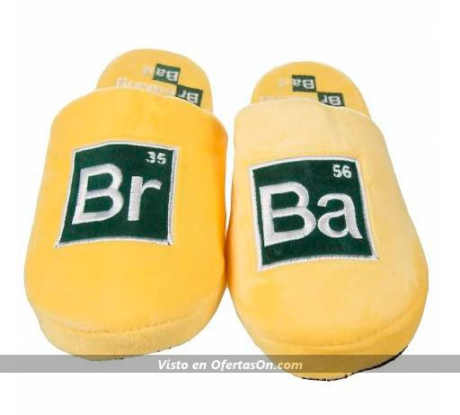 Zapatillas de andar por casa Breaking Bad