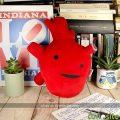 Corazón de peluche grande