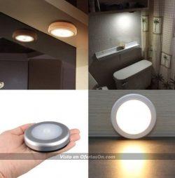 luz led auxiliar con sensor de movimiento