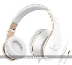 Auriculares de diadema Sound Intone I65 con micro y control de volumen