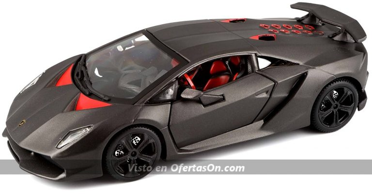 Coche a escala 1 24 Lamborghini Sesto Elemento de Bburago