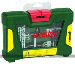 Maletín de 41 unidades para taladrar y atornillar Bosch V-Line
