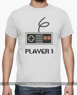 Camiseta Player 1 ideal para gamers