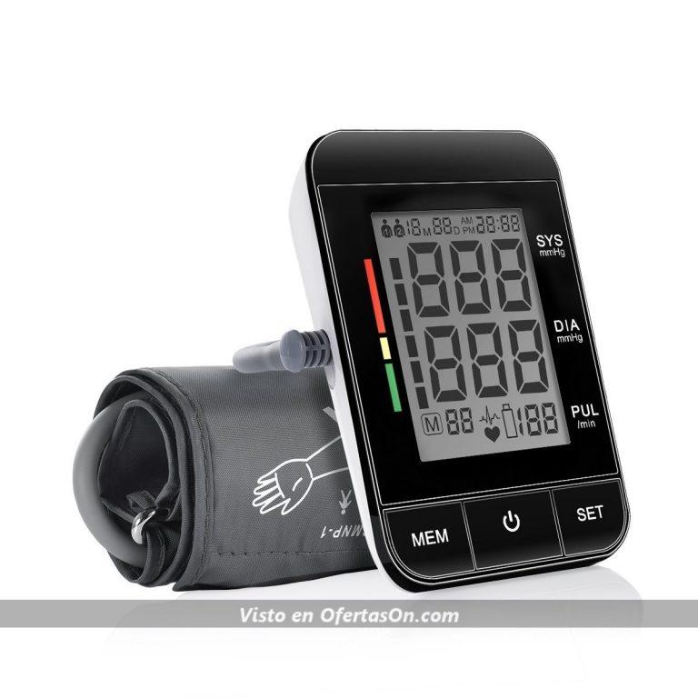Tensiómetro de brazo y pulsómetro electrónico Purcare
