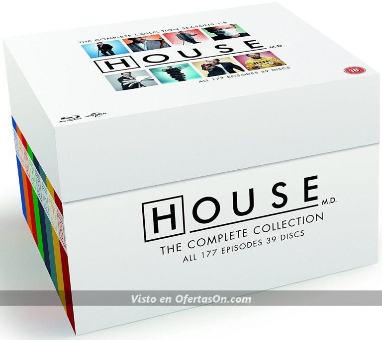 Serie completa House (8 temporadas) en Blu-Ray