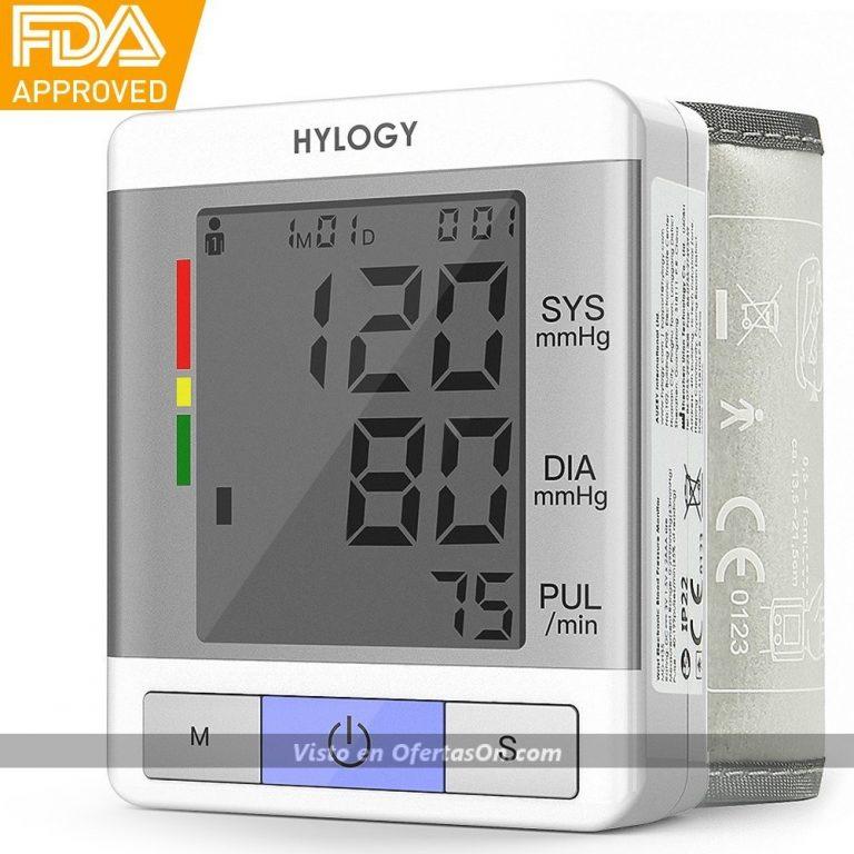 Tensiómetro y pulsómetro de muñeca Hylogy H35
