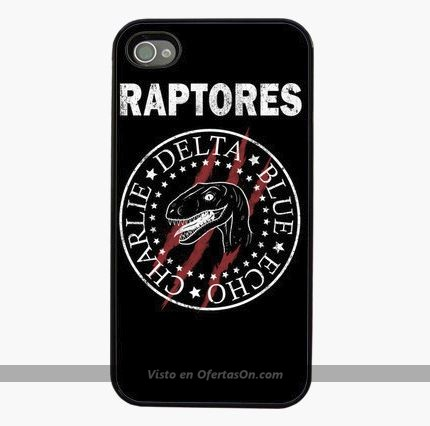 Funda iPhone 4 5 6 6 Plus Raptores (Jurassic World)