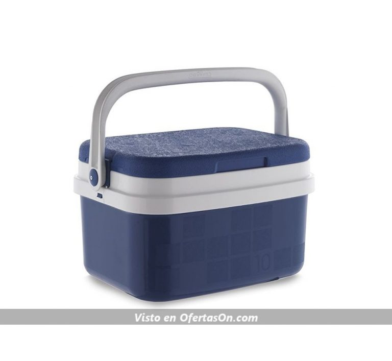 Nevera portátil (varios tamaños 10L - 42L) Campos color azul