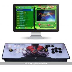 Consola de videojuegos con mandos y 1299 juegos clásicos para 2 jugadores XSC Pandora's Box 5S