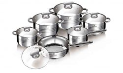 Batería de cocina Blaumann de 12 piezas