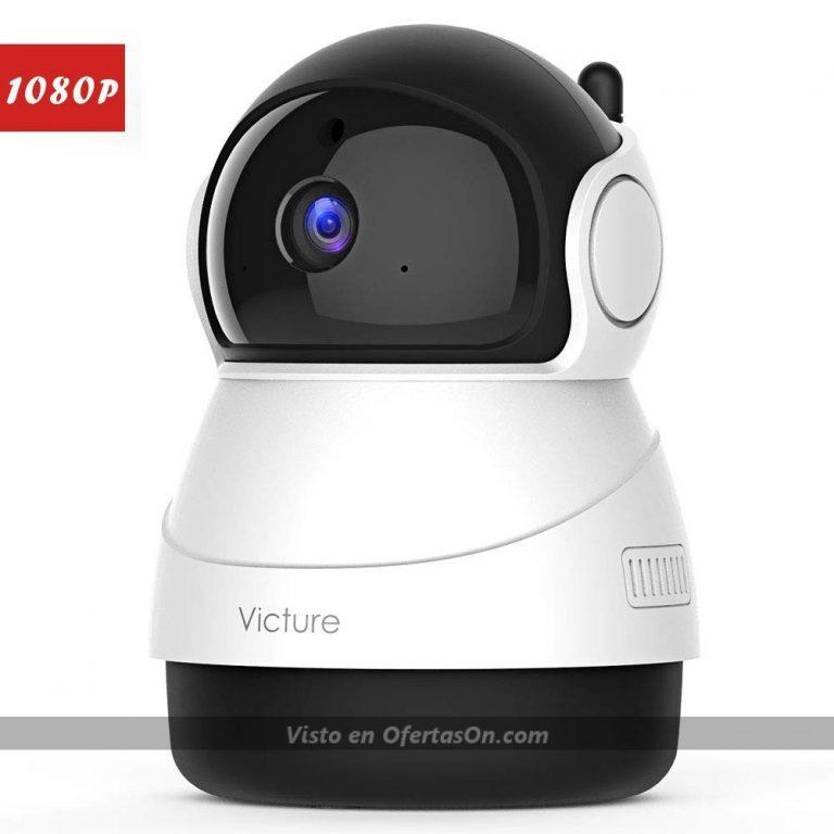 Cámara de vigilancia Victure PC530 con visión nocturna y detección de movimiento