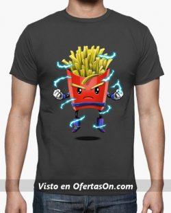 Camiseta Patatas Fritas Saiyan