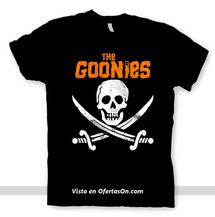 Camiseta de Los Goonies - Calavera pirata