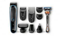 Kit Recortadora Braun 9 en 1 MGK3085 y Maquinilla Gillette Fusion ProGlide