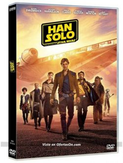 Película 'Han Solo. Una Historia de Star Wars' [Blu-Ray DVD 3D]