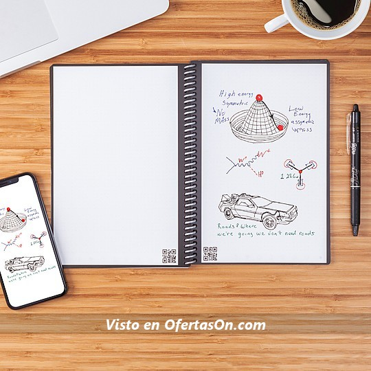 Rocketbook el cuaderno digital reutilizable