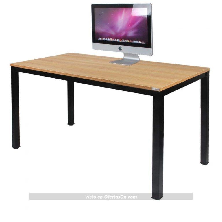 Mesa de escritorio 100x60x75cm o 120x60x75cm (color a elegir) de Need
