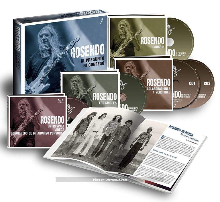 BoxSet Rosendo Ni presunto ni confeso CD