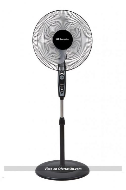 Ventilador de pie Orbegozo SF 0148 50 W negro