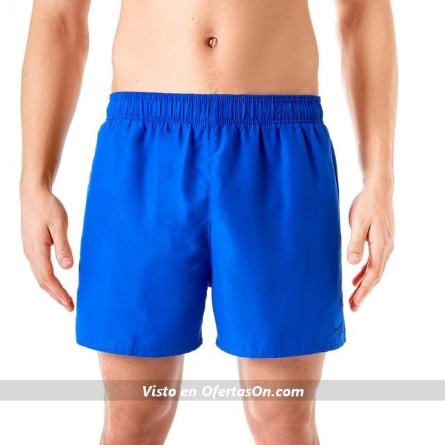 Bañador short azul Nike