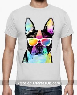 Camiseta Pug de Verano
