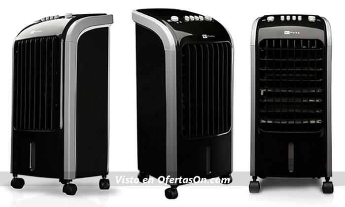 Climatizador digital Q7 con 3 velocidades y oscilación de las aspas