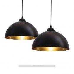 Lámpara de techo colgante B.K.Licht Vintage BKL1093 2 unidades
