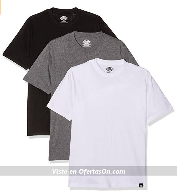Pack 3 camisetas de corte recto marca Dickies