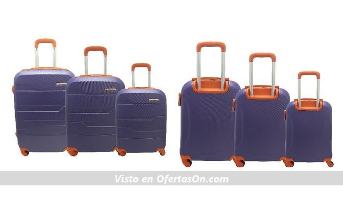 Set de 3 maletas Talento