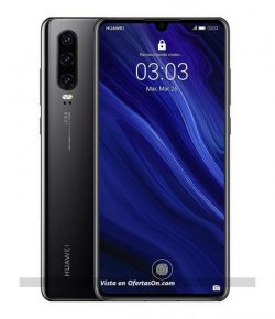Smartphone Huawei P30 6.1 6 GB RAM 128 GB ROM Color negro Versión española