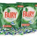 84 252 o 504 cápsulas Fairy All in One