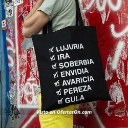 Bolsa Tote Bag Pecados Capitales