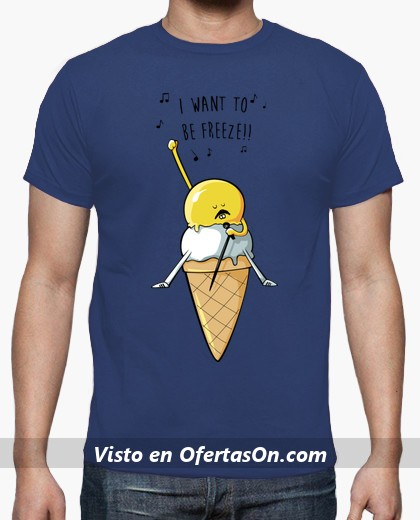 Camiseta Reina de Hielo I want to be freeze