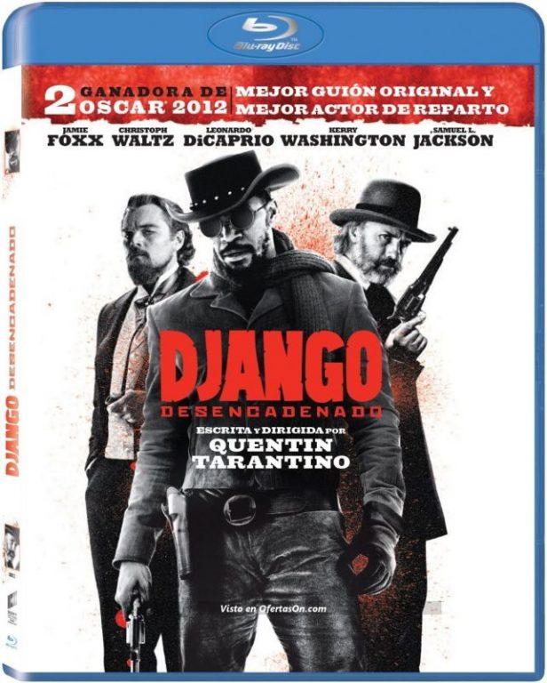 Película Django Desencadenado Blu Ray