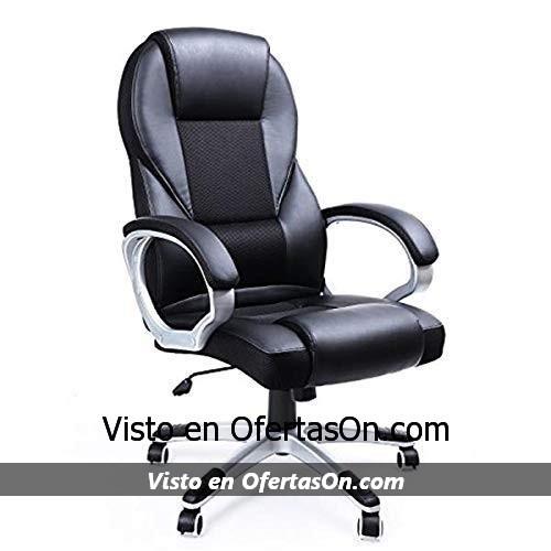 Silla de escritorio oficina ergonómica Songmics OBG22B