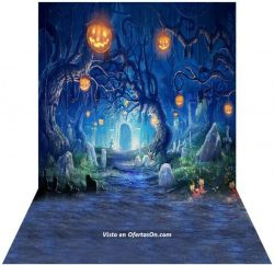 Fondo fotográfico de Halloween Andoer 15 x 2m
