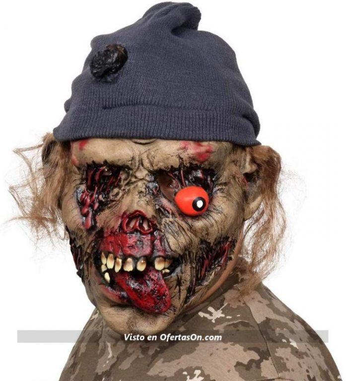 Máscara de Halloween de zombie AivaToba